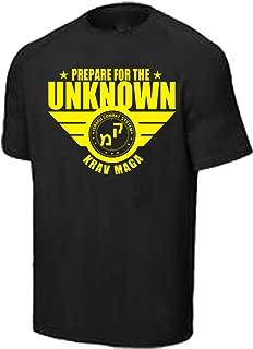 Krav Maga Shirt Black/Yellow (Small)