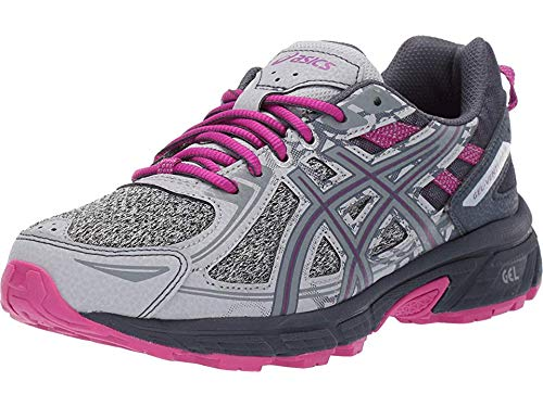 ASICS Women's Gel-Venture 6 MX Running Shoes, 8M, MID Grey/Purple SPEC