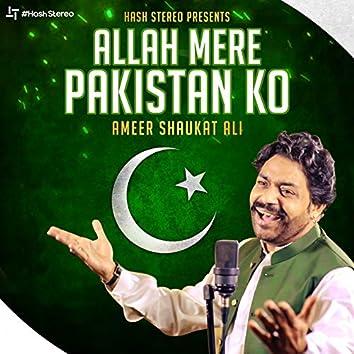 Allah Mere Pakistan Ko - Single