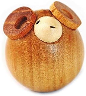 木製の十二支(干支) の ひつじ(羊)の起き上がりこぶし