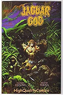 JAGUAR GOD #1, VF/NM, Frank Frazetta, Glenn Danzig, Verotik,more indies in store