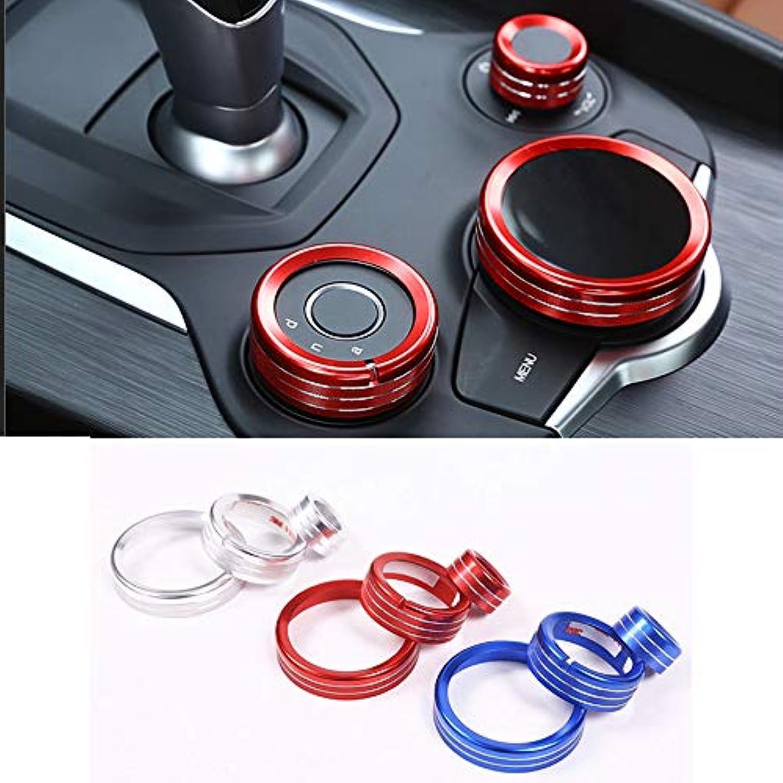 3pcs Set Car Center Control Multimedia Trim for Alfa Romeo Giulia for Stelvio 2017 Accessories
