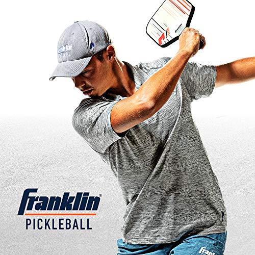 Franklin Sports Pro Pickleball Paddle - Pro Tournament Pickleball Paddle - Extra Grip MaxGrit Technology - Ben Johns Signature Pickleball Paddle, Model:52783