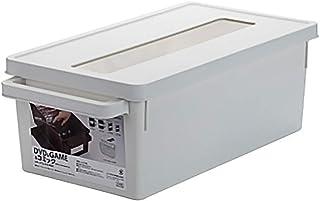 Caja de Almacenamiento de plástico, Cajas de Almacenamiento apilables/Estuches/gabinete apilable - CD DVD Música Álbum Jue...