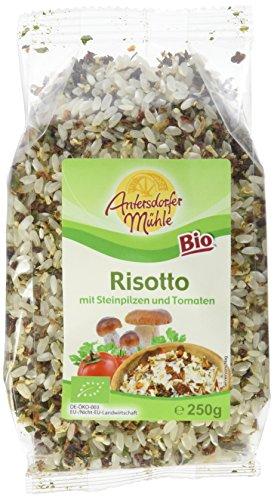 Antersdorfer Bio-Mühle Risotto mit Steinpilzen und Tomaten, 6er Pack (6 x 250 g)