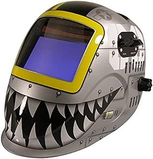 ArcOne 7000VX-1171 Python Welding Helmet with 7000VX Shade Master Filter, Fighting Tiger