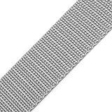 BIG-SAM - 10581-20mm Gurtband - Polypropylen - 1, 5 oder 10 Meter Angebote (10 Meter, Hellgrau (89))