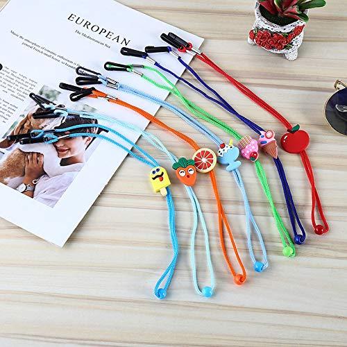 mmy 7pcs Erwachsene Kinder Maske Lanyard Farbe Studentenmaske Seil Ohrriemen verstellbares Lanyard