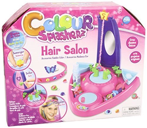 Color Splasherz - Hair Salon, Color Azul, Rosa y Morado (Cife 86552)