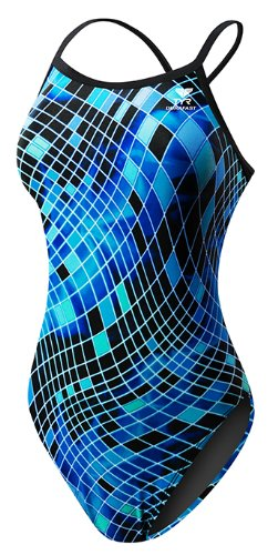 TYR SPORT Women's Disco Inferno Diamondfit Swimsuit