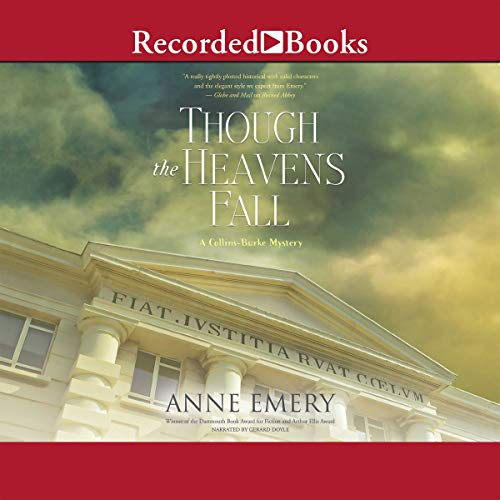 Though the Heavens Fall audiobook cover art