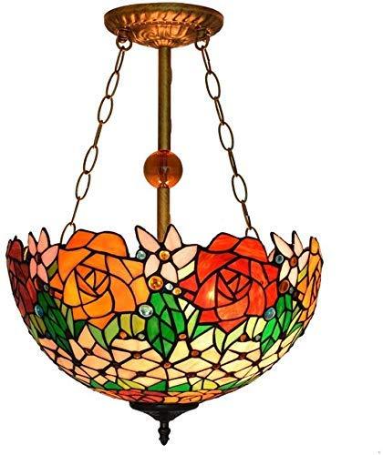 Wtbew-u Lámpara de Techo, luz de baño Estilo Lámpara de Techo Lámpara de Vidrio de Manchas Chandelier Crystal Beads Flush Monte Lighting Lighting Lightings