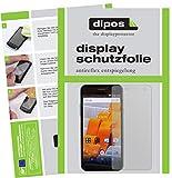 dipos I 6X Schutzfolie matt kompatibel mit Wileyfox Spark Plus Folie Bildschirmschutzfolie