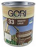 Gori 33 Sensitiv Lasur 7808 Nussbaum, 0,75 Liter