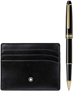 Montblanc Set Montblanc Meisterstück Classique Rollerball pen and Pocket Holder, 123752