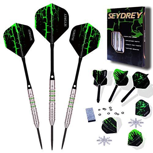 Seydrey Dartpfeile, Tungsten Steel Dartpfeile Razor Edge Design 85% 90% 22 Gram Dartpfeil 23 Gram Dartpfeil 24 Gram Dartpfeil 26 Gram Dartpfeil