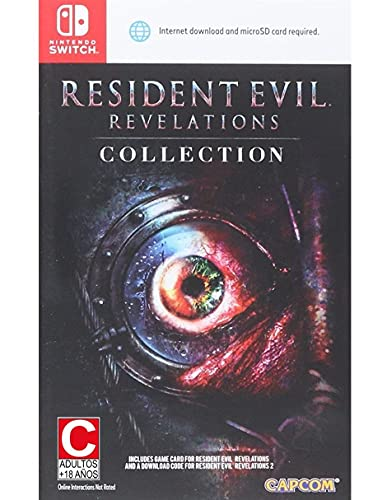 Resident Evil Revelations Collection for Nintendo Switch [Importación inglesa]