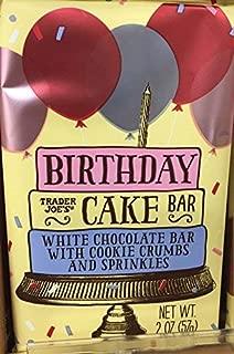 trader joe's birthday cake chocolate