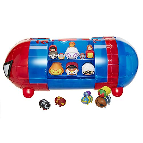 Tsum Tsum Spiderman Stack 'n' Store Pantalla Set