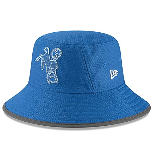 New Era NFL 2018 Training Camp Sideline Bucket Hat Team Color (Indianapolis Colts)