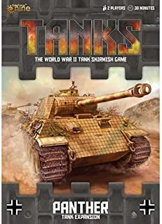 Tanks: German Panther Tank Expansion Board Game