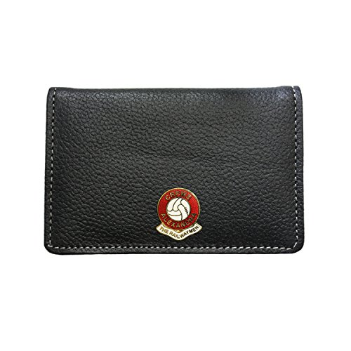 Crewe Alexandra Football Club Leather Card Holder Wallet