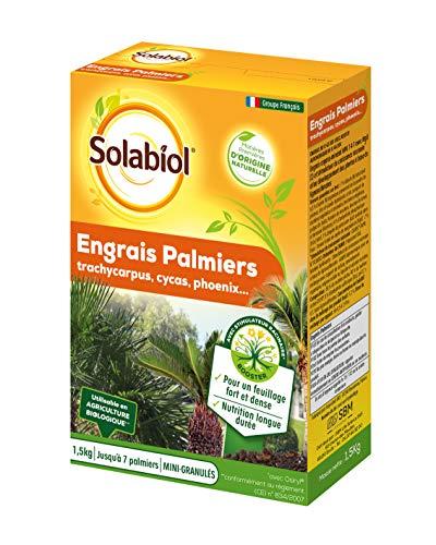 SOLABIOL SOPALMY15 Engrais palmiers et plantes méditerranéennes 1,5 Kg, Utilisable en Agriculture...