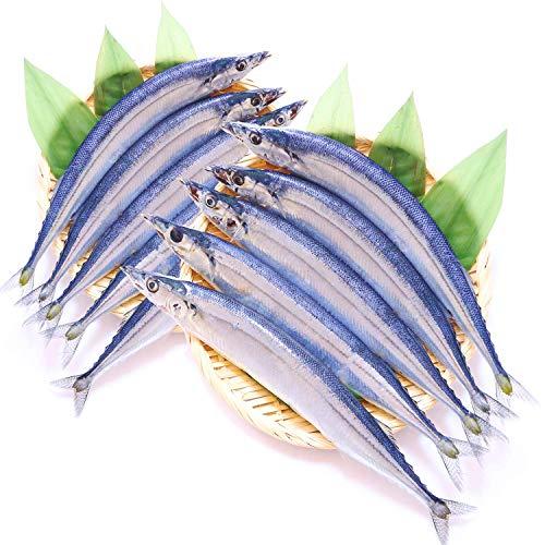 生さんま 北海道 獲れたて 新鮮 生 サンマ お刺身 焼き魚 秋刀魚 (特大 2kg 12-15尾 訳あり)