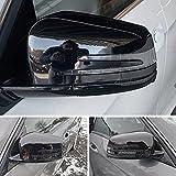 MKptopia Carcasas de espejo retrovisor de coche Cubierta de espejo de ala lateral Tapa de plástico ABS Estilo apto para Mercedes-Benz A B C E S CLA GLK GLA Clase W176 W246 W204 W212 W221 X156 C117