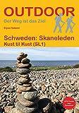 Schweden: Skaneleden: Kust til Kust (SL1) (Outdoor Wanderführer)