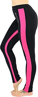 Women's Color Lined Sleek and Flexible Stretch Pants