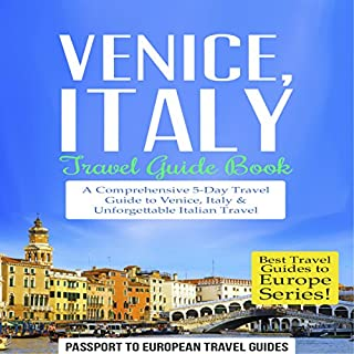 Venice, Italy audiobook cover art