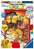 Ravensburger Spieleverlag König der Löwen Dipingere con i Numeri, Multicolore, 27786