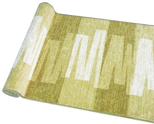 Ta-Bo Lifestyle Läufer Teppich Brücke Teppichläufer Veneto 80 cm breit grün, 80x100 cm
