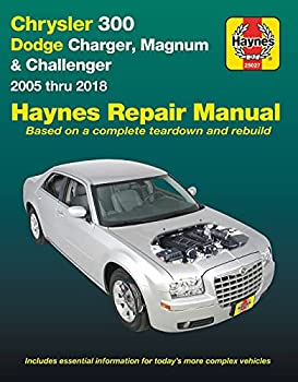 Chrysler 300  05-18  Dodge Charger  06-18  Magnum  05-08  & Challenger  08-18  Haynes Repair Manual  Does not include diesel engine all-wheel drive or Hellcat/Demon models   Haynes Automotive