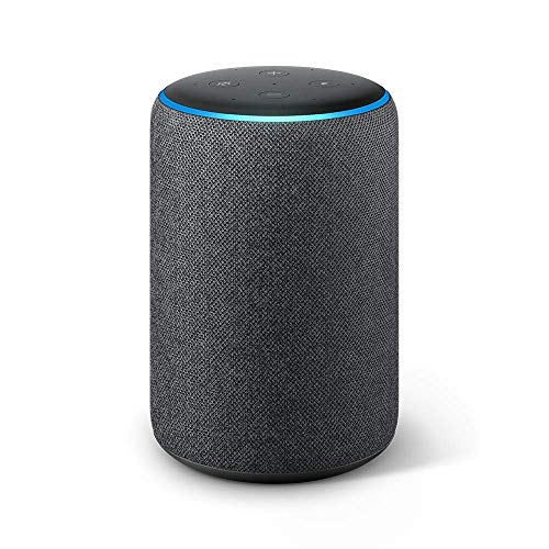 Image of Echo Plus (2nd Gen) - Premium sound with built-in smart home hub - Charcoal: Bestviewsreviews