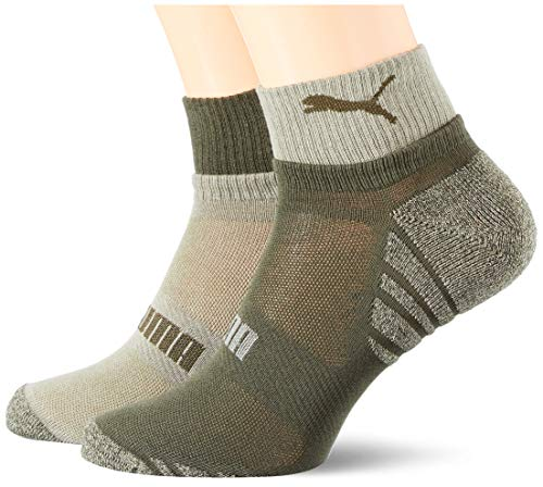 PUMA Men's Seasonal Quarter Socks (2 pack)