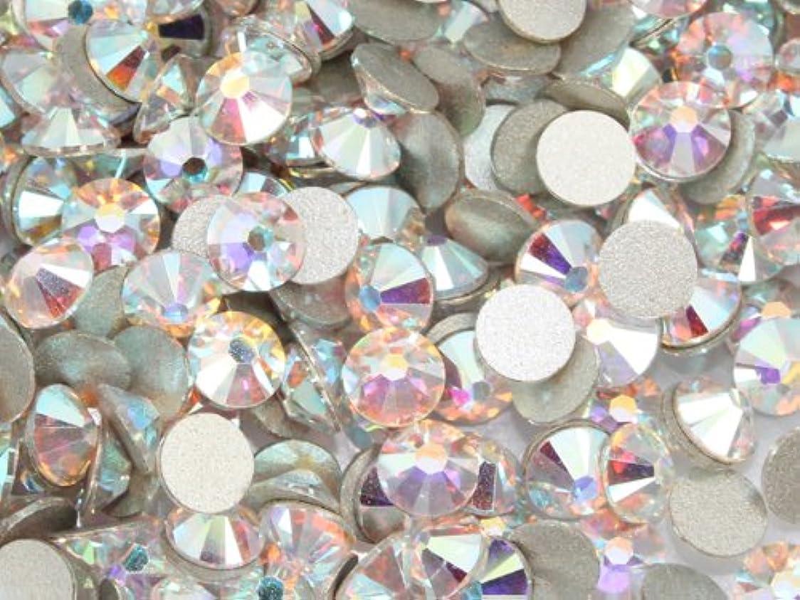 つぼみ処理胚芽2058クリスタルオーロラss40(50粒入り)スワロフスキーラインストーン(nohotfix)
