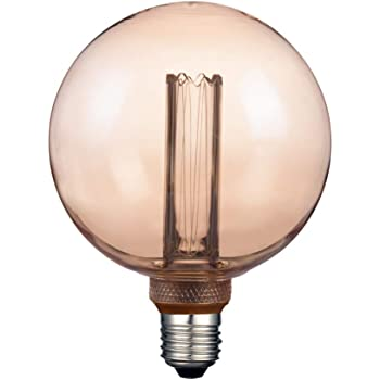 Foco Interior LED E27, Ambar Tecnolite 3DG125LEDFC20VA