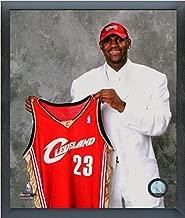 LeBron James Cleveland Cavaliers 2003 NBA Draft Day Photo (Size: 12