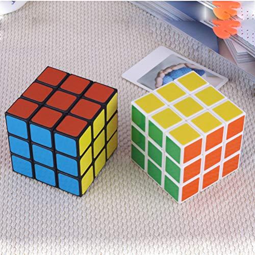 Mallalah Speed Cube 3Pcs 3x3 Facile à Tourner Lisse Puzzle Enfant Jouets éducatif Cubing Classroom Smooth Puzzles Jeu de Cubes