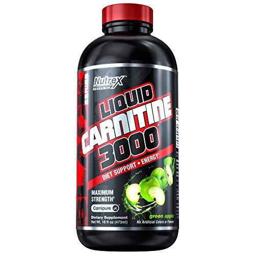 Nutrex Research Liquid Carnitine 3000 Green Apple - 473 ml