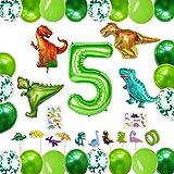Selva Dinosaurios,Globos Dinosaurios Gigantes,Globos de Helio Dinosaurios,Globos de Cumpleaños Dinosaurios,Decoración de Fiesta Dinosaurio