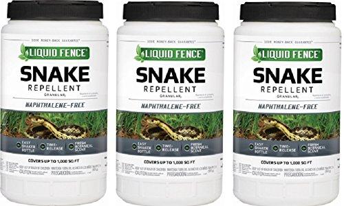 Liquid Fence HG-85010 2 lb Snake Repellent Granules - Quantity 3