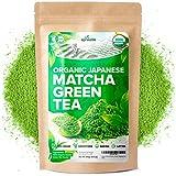 AprikaLife Organic Japanese Matcha Green Tea Powder – USDA & JAS Organic - Authentic Japanese...