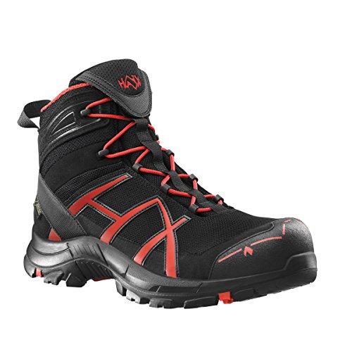 Haix Safety 40 mid black/red Größe UK 9,5 / EU 44