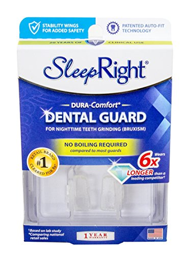 SleepRight Dura-Comfort Dental Guard – Mouth Guard To...
