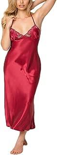 Women Sexy Lingerie Lace Babydoll Underwear Sleepskirt Satin Lace Long Gown