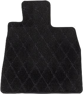 Elgan(エルガン) フロアマット(1台分) ドレスアップシリーズ ダイヤライン柄 ブラック 日産 エクストレイル 12.11-15.07 T30