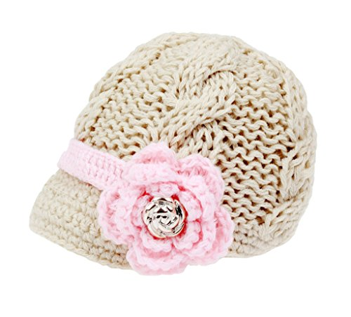 Bestknit - Chapeau - Bébé (Fille) - Ecru - M